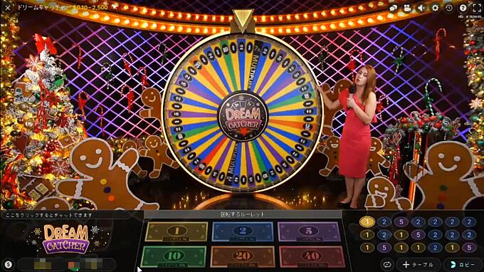 ライブカジノ ゲームショー