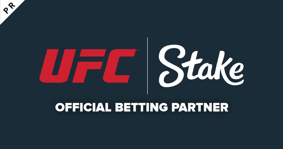 UFC®が南米・アジアにおける初の公式ベッティングパートナーにSTAKE.COMを指名