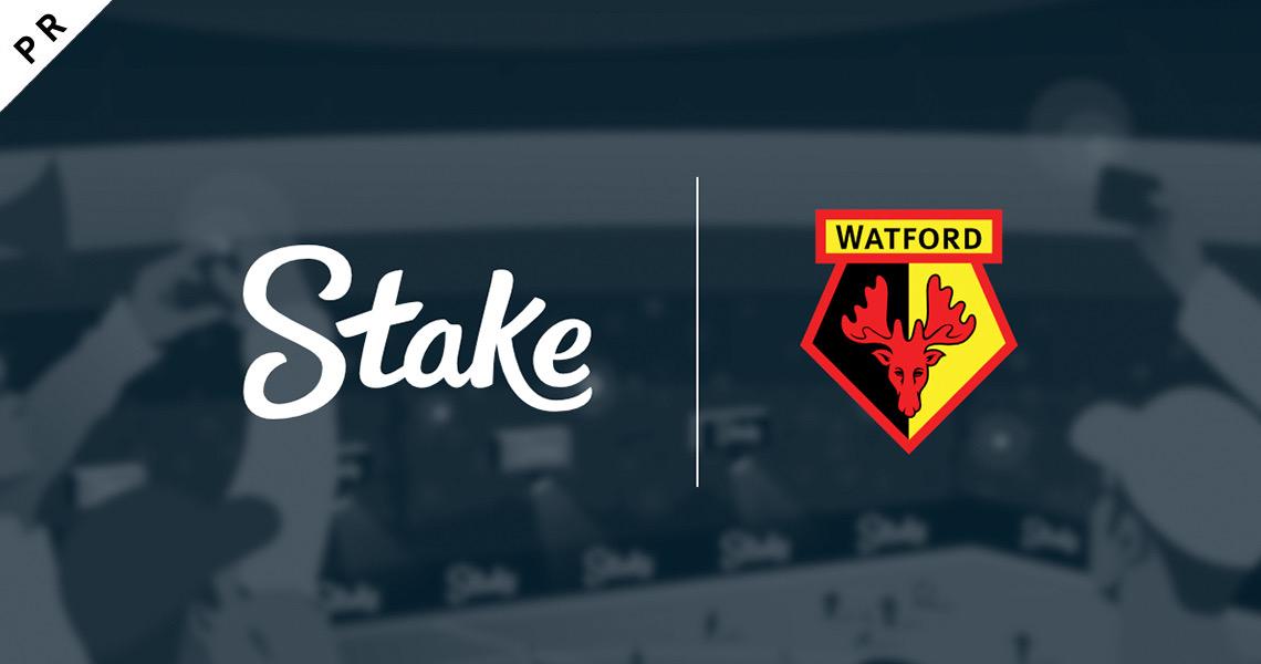 Watford FCとStake.comが数年にわたる主要パートナーシップを発表締結